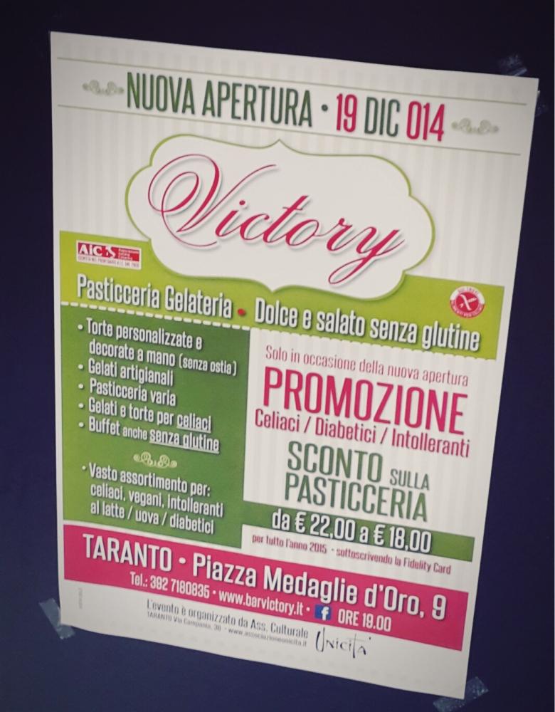 Pasticceria Victory a Taranto: il dolce paradiso dei celiaci (2/6)