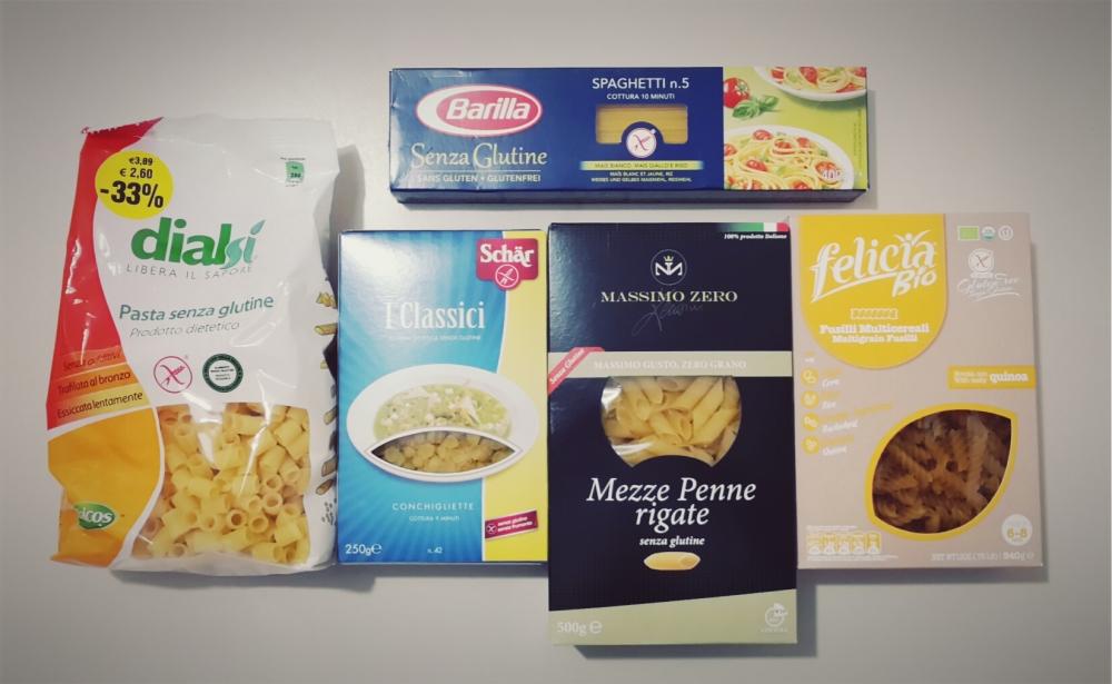 Pasta senza glutine: i miei marchi preferiti (1/6)