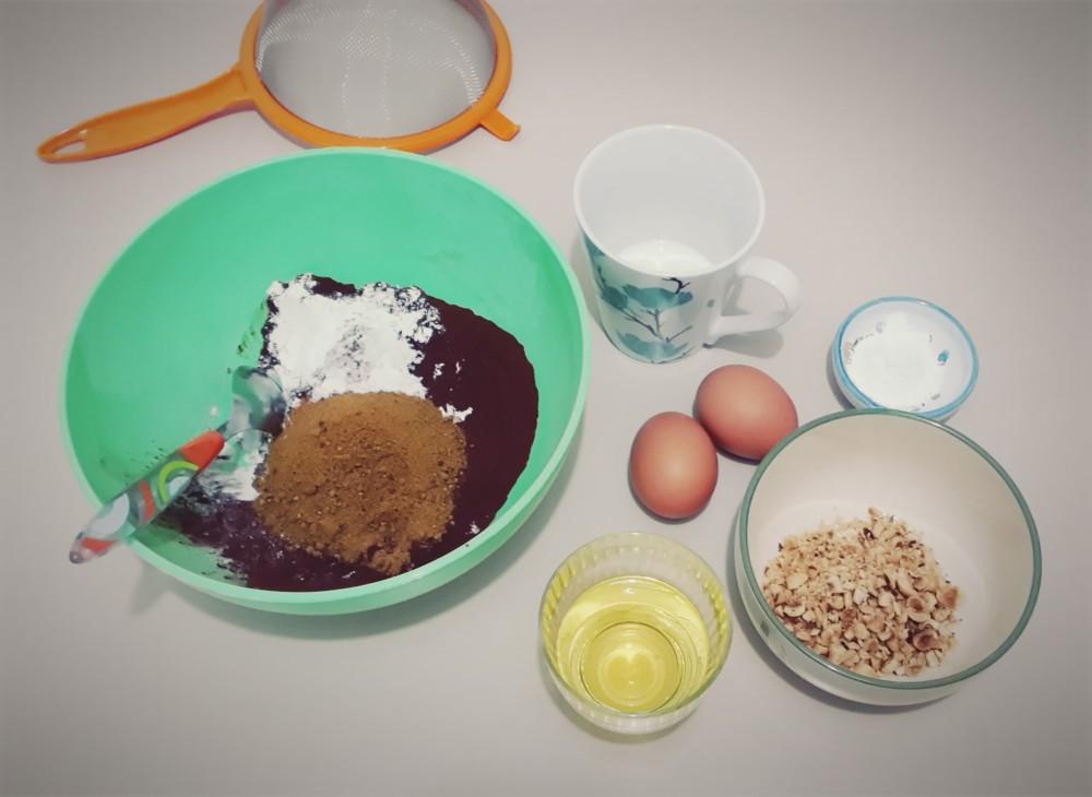 Muffin (senza glutine) al cacao e nocciole (1/5)