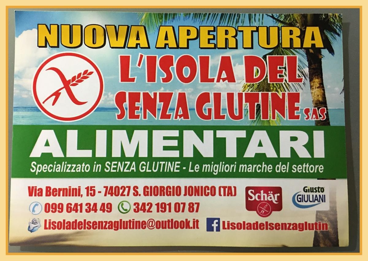 L'Isola del Senza Glutine a San Giorgio Jonico (TA)