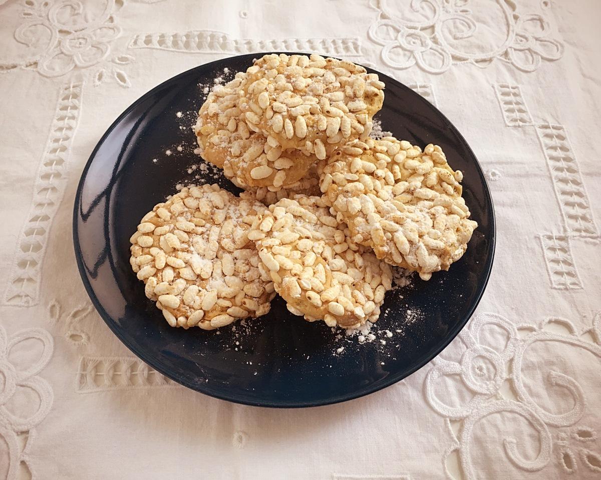 Biscotti senza glutine al riso soffiato